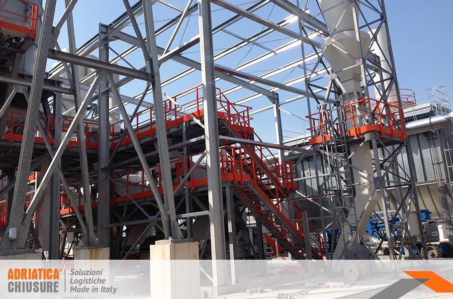 struttura in carpenteria metallica leggera