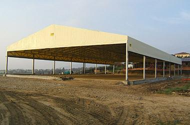 realizzazione e progettazione di capannoni mobili, coperture e tunnel agricoli