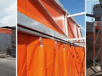 coperture per stoccaggio e deposito merci per azienda di arredamento