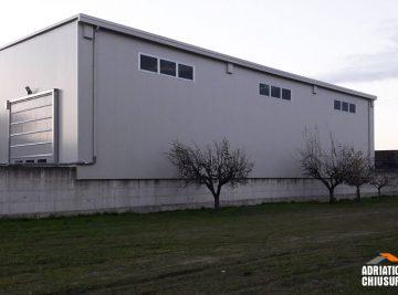 coperture per stoccaggio e deposito merci per industria dei metalli