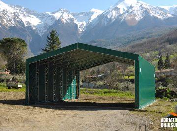 coperture e tunnel agricoli per fieno