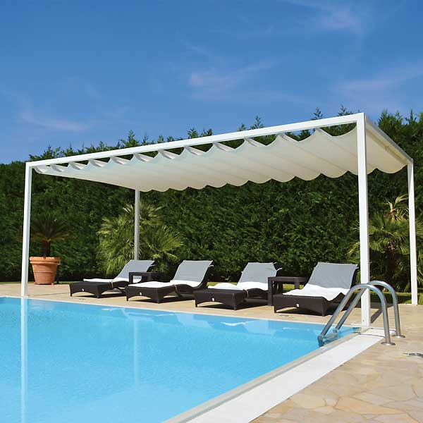 Gazebo Beach System copertura per ombreggiatura bordo piscina