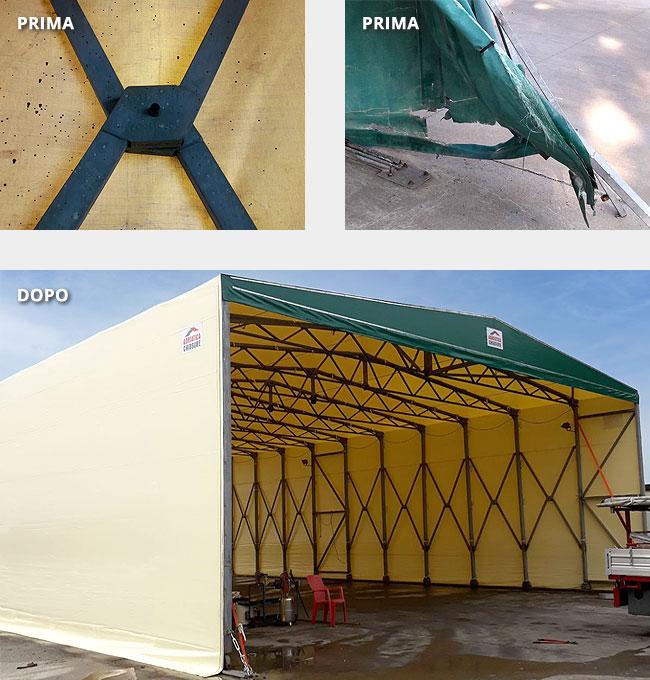 Ritelonatura capannoni in PVC Adriatica Chiusure