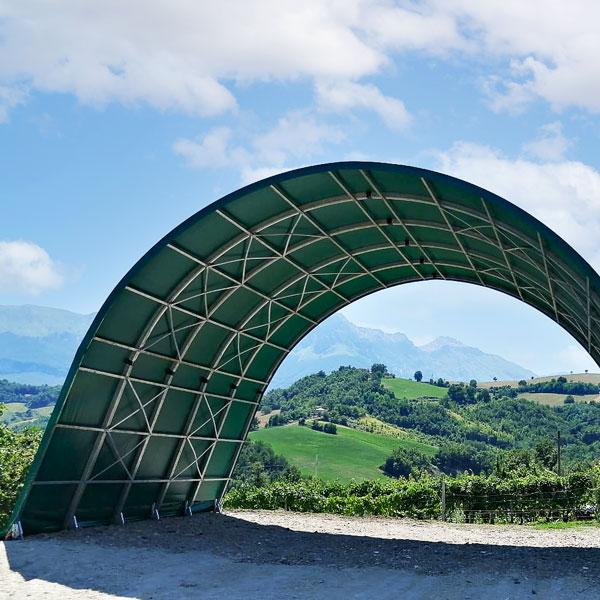 Arcotunnel struttura agricola Adriatica Chiusure 4