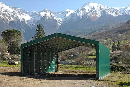 Tunnel agricoli prezzi tunnel agricolo modello stalla Adriatica Chiusure