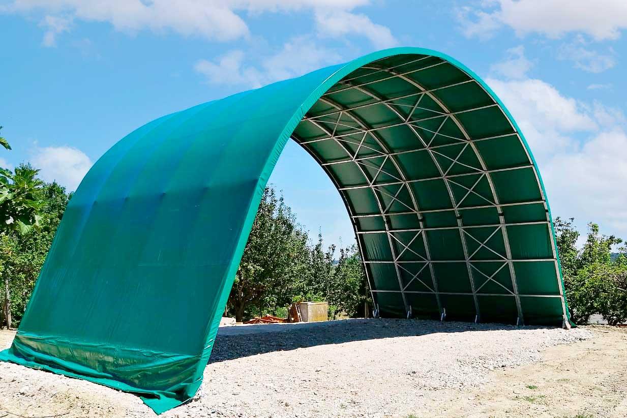Tunnel agricoli prezzi tunnel per fieno Adriatica Chiusure