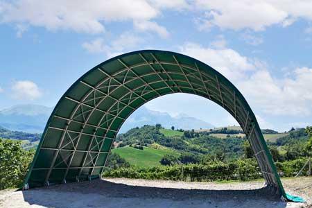 Tunnel agricoli prezzi tunnel per fieno Arcotunnel Adriatica Chiusure 1