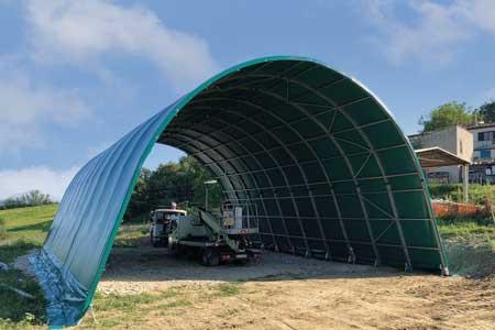 Tunnel agricoli prezzi tunnel per fieno Arcotunnel Adriatica Chiusure